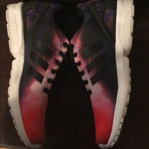 adidas Shoes - Adidas Originals Zx Flux Sunset Palm Trees, Size11